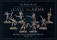 TES: Call to Arms Bleak Falls Barrow Delve Set Starter PLASTIC