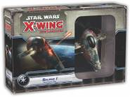 Star Wars X-Wing: - Slave-1 Firespray (Boba Fett) Expansion - ENGLISH !