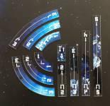 XWing 2.0 Manöver Aliens Playground (11 teilig), vollfarbig