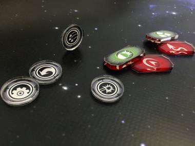 Armada Marker/Token Set - 8 gleiche