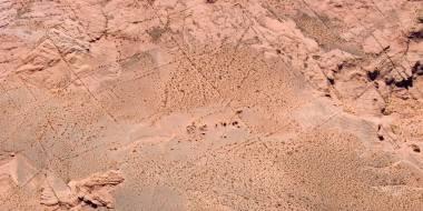 Spielmatte PVC - Wüste 03 (bis Größe 183cm)