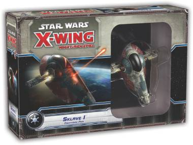 Star Wars: X-Wing - Slave-1 Firespray (Boba Fett) Expansion - ENGLISH !