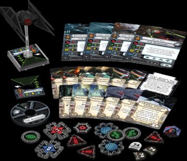 Star Wars: X-Wing - TIE/vn Dämpfer / Silencer • Erweiterungspack DEUTSCH