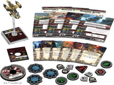 Star Wars: X-Wing - Auzituck-Kanonenboot • Erweiterungspack DEUTSCH