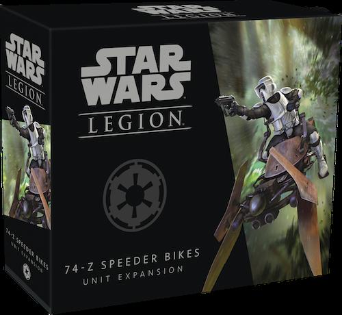 Star Wars Legion: Imperium 74-Z Düsenschlitten / Speederbike