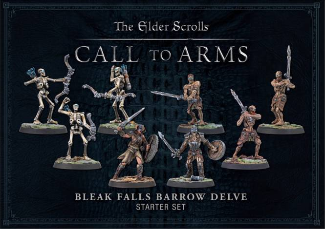 TES: Call to Arms Bleak Falls Barrow Delve Set Starter RESIN