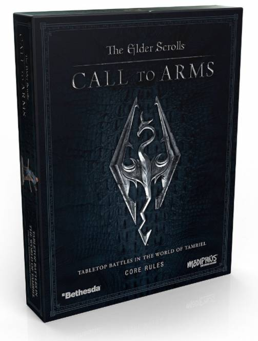 The Edler Scrolls: Call to Arms Core Rulebox - ENGLISCH