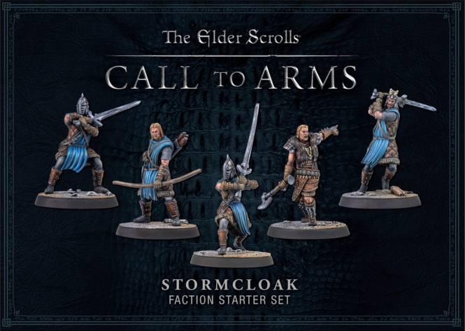 TES: Call to Arms Stormcloak Starter RESIN