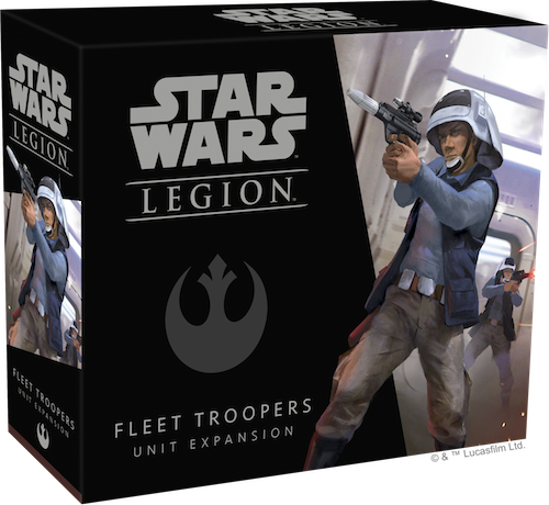 Star Wars Legion: Flottentruppen der Rebellen