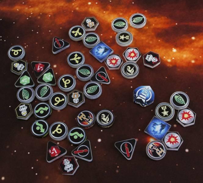 XWing 1 Token Set Imperium (51 teilig)