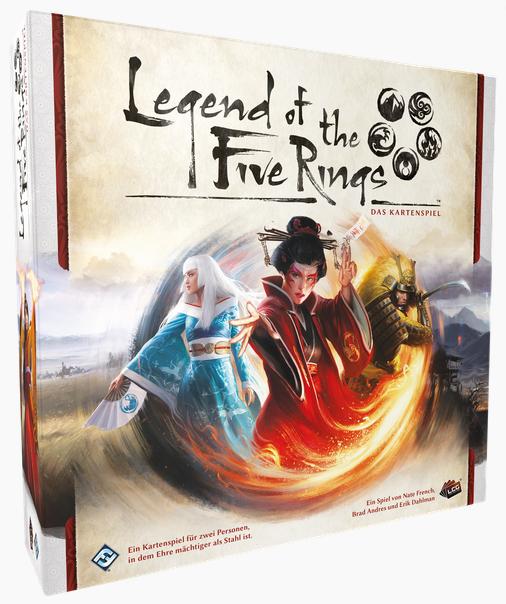 L5R: Legend of the 5 Rings: LCG - Grundspiel • DEUTSCH