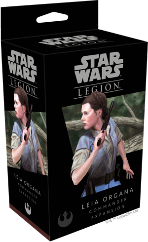 Star Wars Legion: Leia Organa