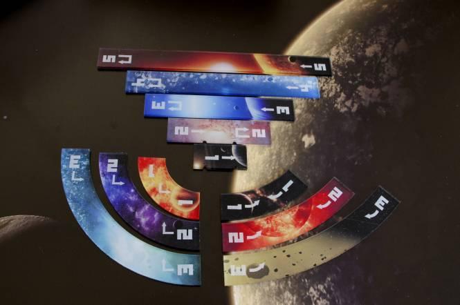 XWing 1 Manöver Universe01 (11 teilig), vollfarbig