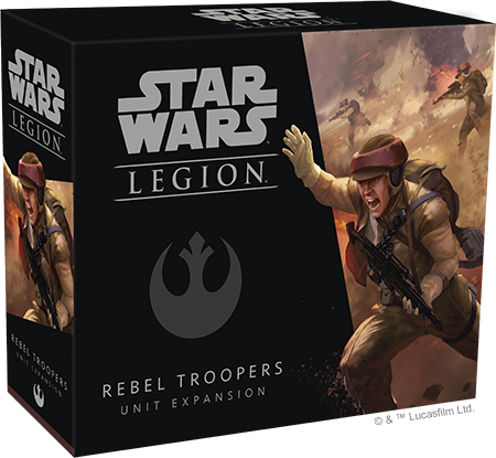 Star Wars Legion: Rebellentruppen