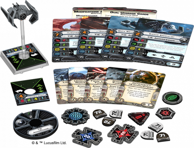 Star Wars: X-Wing - TIE-Aggressor • Erweiterungspack DEUTSCH