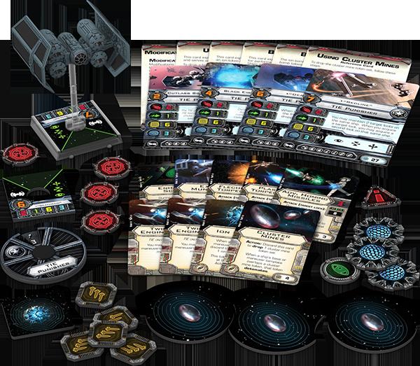 Star Wars: X-Wing - TIE-Vergelter / Punisher • Erweiterungspack DEUTSCH