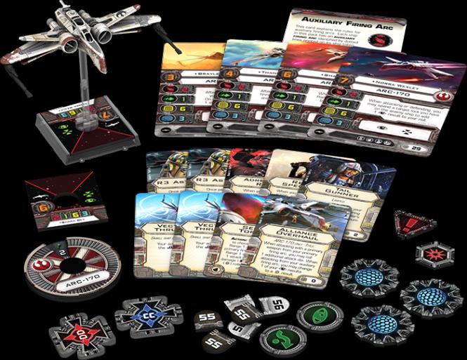 Star Wars: X-Wing - ARC-170 • Erweiterungspack DEUTSCH