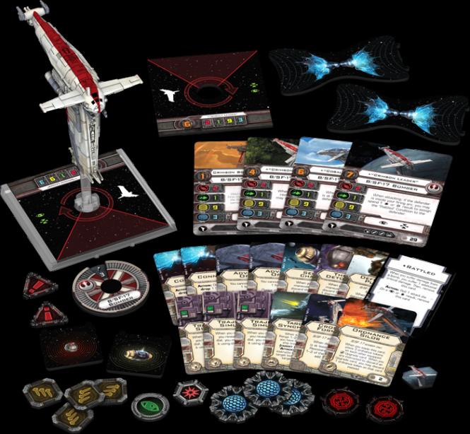 Star Wars: X-Wing - B/SF-17 Bomber des Widerstands • Erweiterungspack DEUTSCH