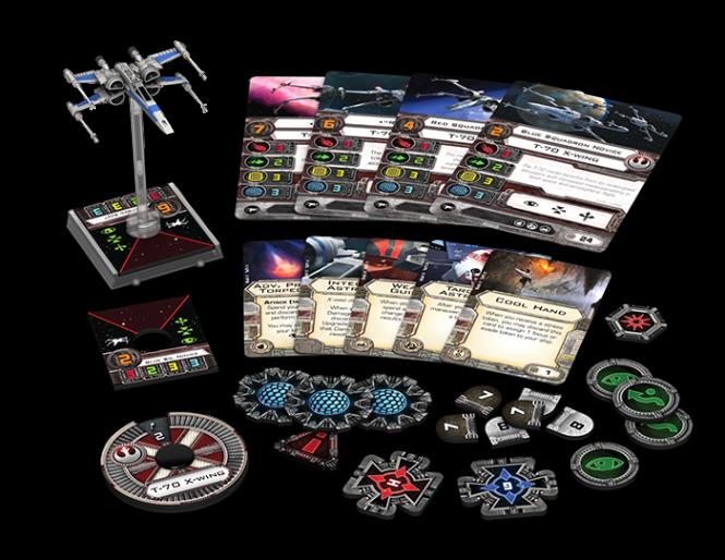 Star Wars: X-Wing - T-70-X-Flügler • Erweiterungspack DEUTSCH