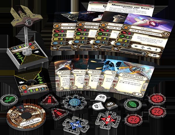 Star Wars: X-Wing - M3-A-Abfangjäger • Erweiterungspack DEUTSCH