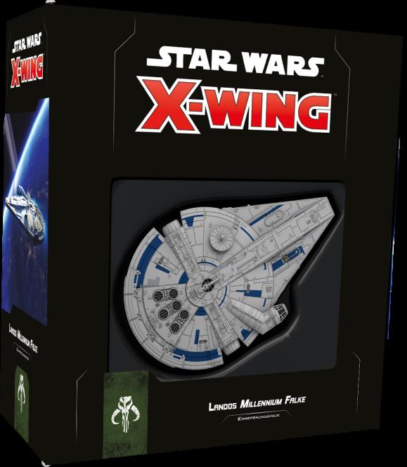 SW X-Wing 2 - Landos Millennium Falke • Erweiterungspack DEUTSCH