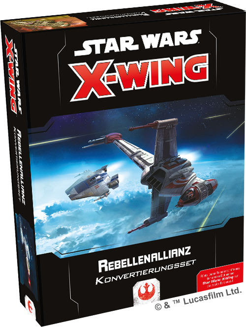 Star Wars X-WING 2 Konvertierungsset Rebellenallianz