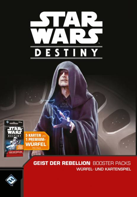 STAR WARS Destiny - GEIST DER REBELLION / SPIRIT OF REBELLION Booster Display (36 Booster) - deutsch! Portofrei
