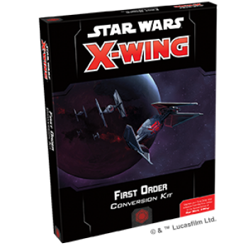 Star Wars X-Wing First Order Conversion Kit - ENGLISH!