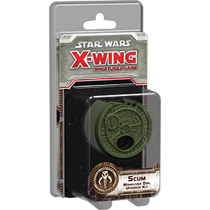Star Wars: X-Wing - Manöver-Rad Abdeckung - ABSCHAUM